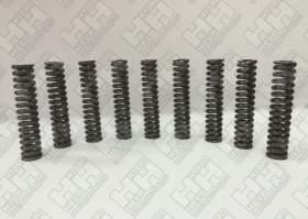 Комплект пружин (1 компл./9 шт.) для колесный экскаватор HITACHI ZX130W (0818511)