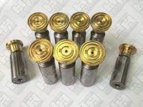 Комплект поршней (9шт.) для колесный экскаватор HYUNDAI R170W-7 (XJBN-00425, XJBN-00424, XJBN-00437)