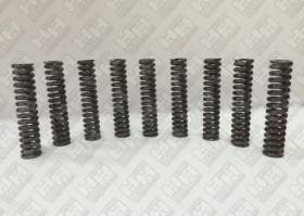Комплект пружинок (9шт.) для гусеничный экскаватор JCB JS240 (LSP0109)